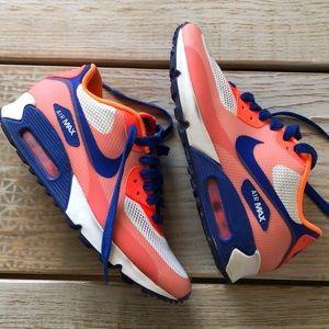 NIKE AIR Max Hyperfuse premium orange, blue, coral